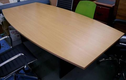 New Swan 2400x1200 Boat Conference Meeting Boardroom Tables