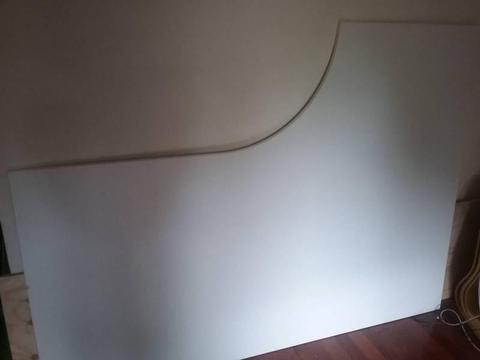 Ikea left-hand corner table top