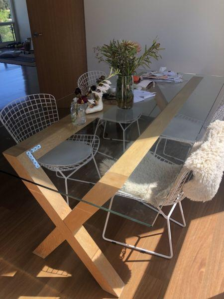 FREEDOM FURNITURE DINING TABLE