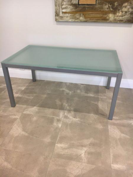 Glass Top Dining Table- Freedom