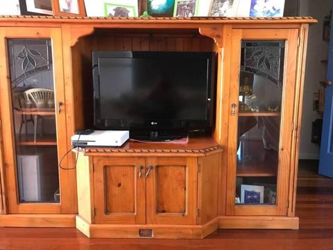 timber television unit