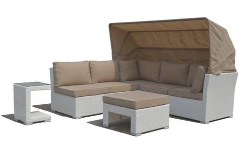 Somerset Outdoor Lounge & Day Bed in One - Outdoor Furniture