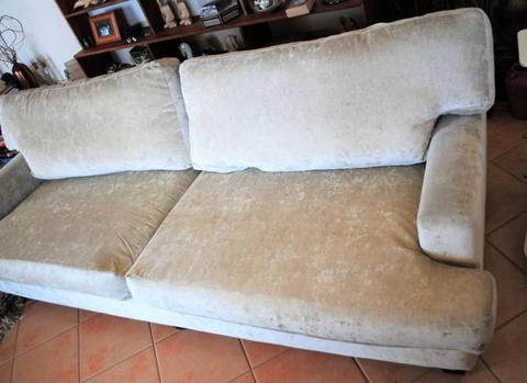 Sofa Lounge FREEDOM FURNITURE Cream