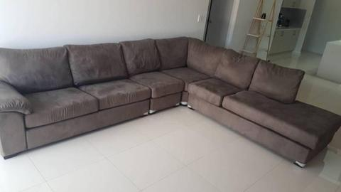 Urgent Sale! Corner lounge with sofa bed