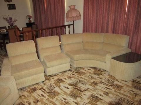 Modular Plush Lounge Suite