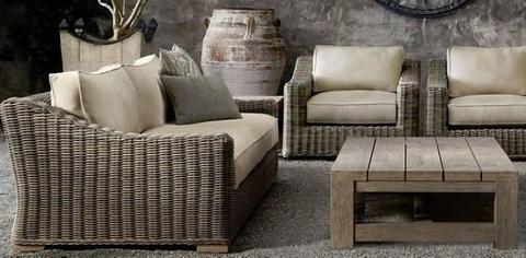 Extra Large Outdoor Lounge set 4 Piece sofa furniture