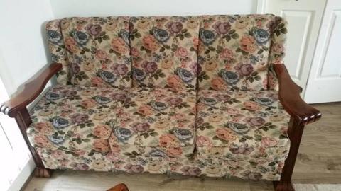 Antique lounge suite