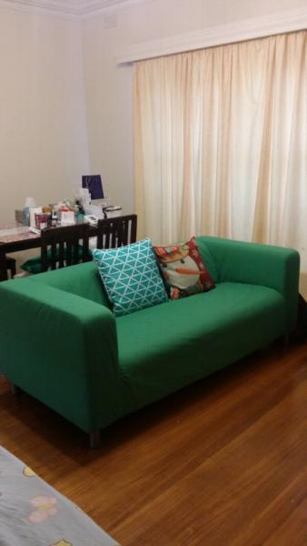 Ikea sofa with removable and washable cover