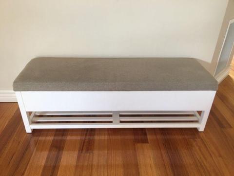 Freedom Furniture Indoor Bench Seat Box