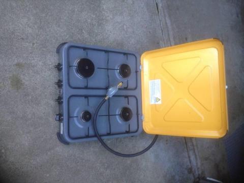 Gasmate 4 burner LPG benchtop cooker