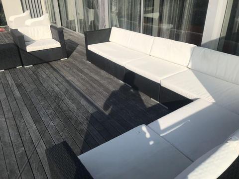 Modular Outdoor lounge wicker
