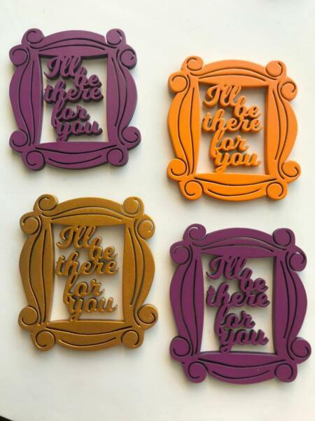 Home decor - Quirky fridge magnets - F.R.I.E.N.D.S special