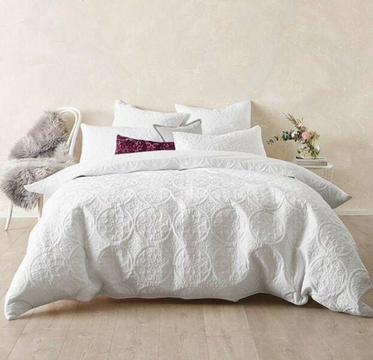 DB white quilt cover