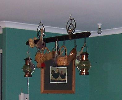 Wrought Iron hanger