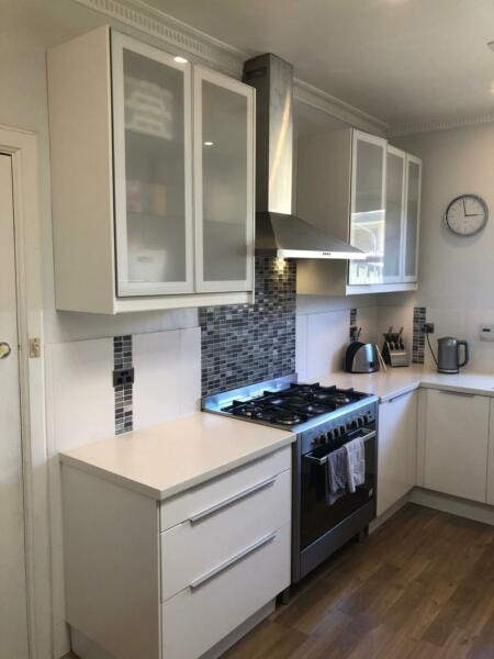 Ikea Kitchen - 3 years old - great condition - built in microwave