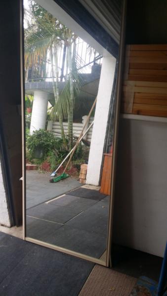Sliding mirror doors for sale