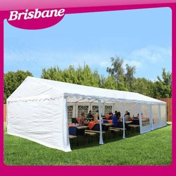 Commercial Outdoor Wedding Gazebo/Marquee 12m x 6m - White QLD