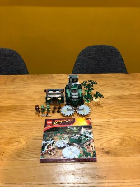 Lego Indiana Jones Jungle Cutter 7626 Retired Set