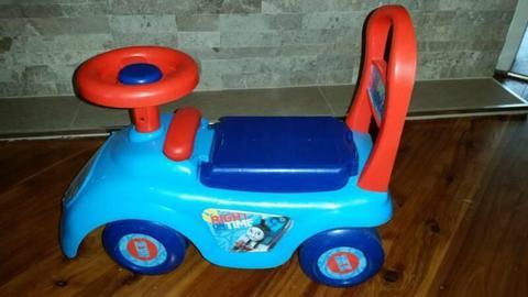 Thomas tank engine push along ride on toy