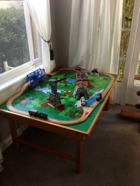 Thomas the Tank Engine Railway Table & all Equipment
