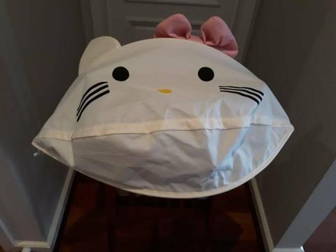 Hello Kitty pram hood