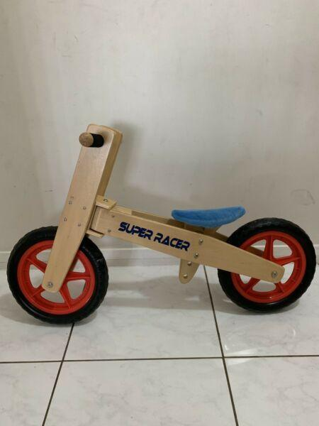 Balance bike wooden high quality
