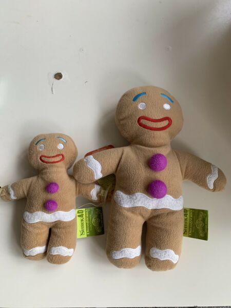 Movie World Gingerbread man plush toys