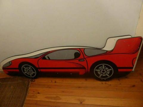 Red Racing Car kids bed