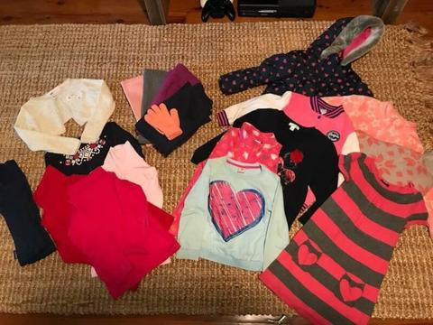 Girls Clothes Size 4 Autumn / Winter Bulk