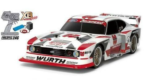 LimIted ed Tamiya XB Ford Zakspeed Turbo Capri Gr.5 Würth (TT-02)