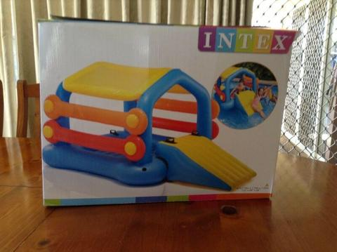 Intex Inflatable Island with Slide