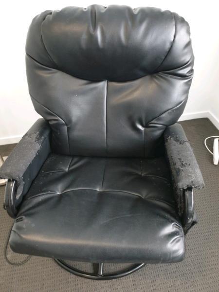 Slider rocking chair