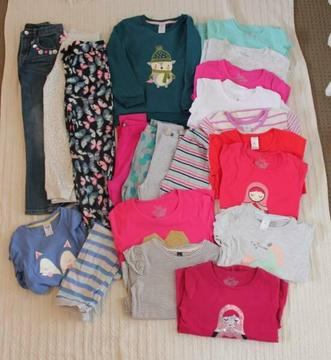 Size 6 Girls Winter Clothing (Pack 4)