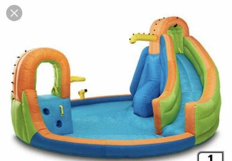 Inflatable water park/ slide