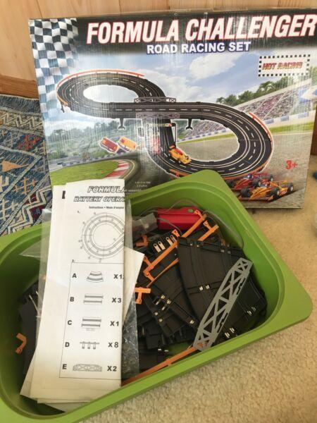 Hot Racing car racing set