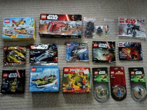 STAR WARS LEGO MINIFIGURES POLYBAGS ALL NEW MIXED PRICES