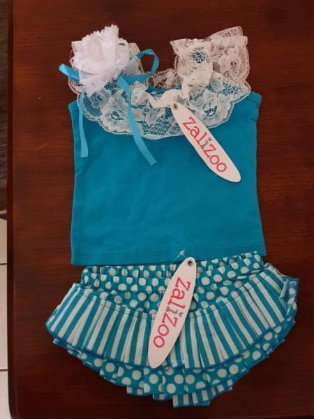 Babies bloomers and tank top