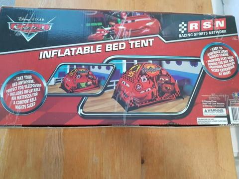 Lightning McQueen Inflatable Bed Tent