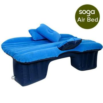 Inflatable Car Mattress Portable Travel Camping Air Bed Rest Bag