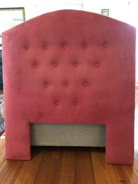 SINGLE BED UPHOLSTERED BED HEAD