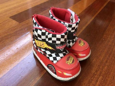 Disney Cars kids snow boots