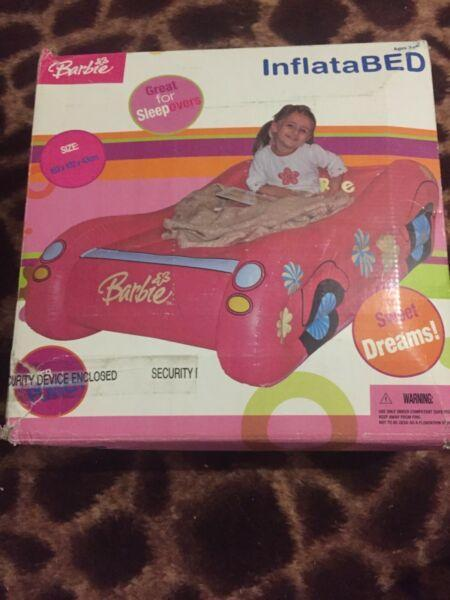 Barbie inflatable bed