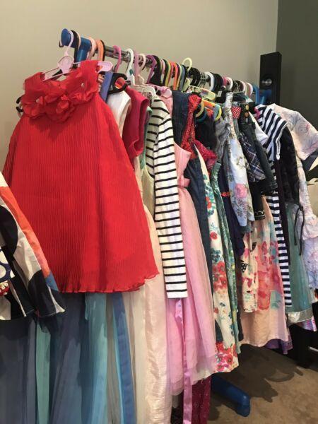 Girls immaculate dresses summer& winter wear size 0-10