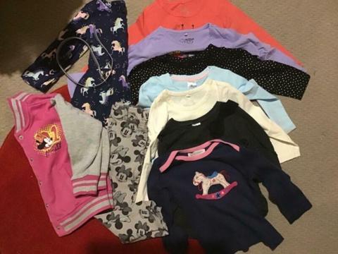 Girls size 2 winter clothing bundle - EUC - $10